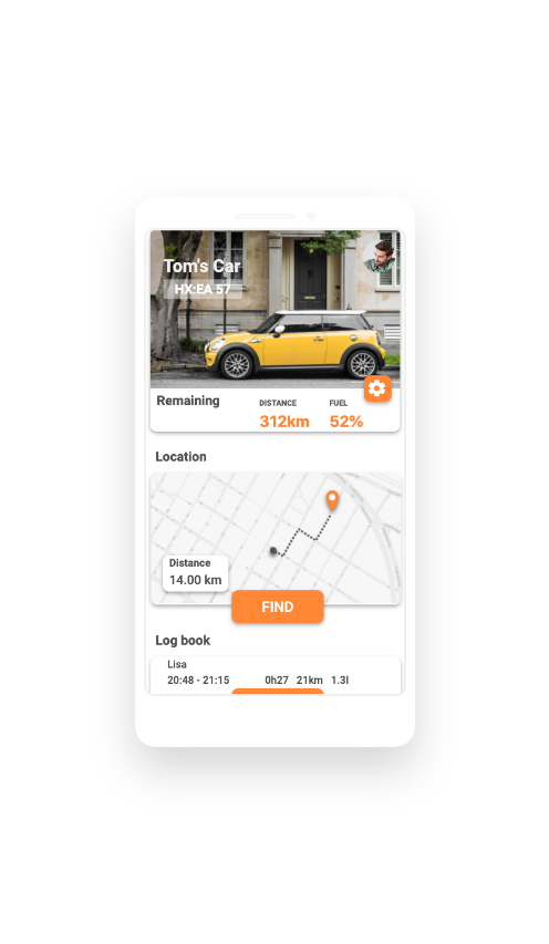 Car Sharing App Overview