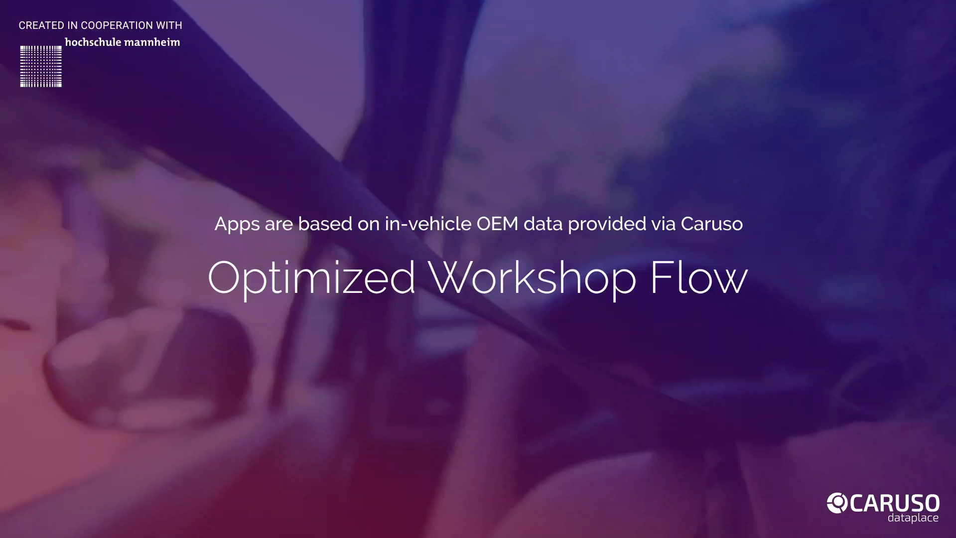 Optimized Workshop Flow