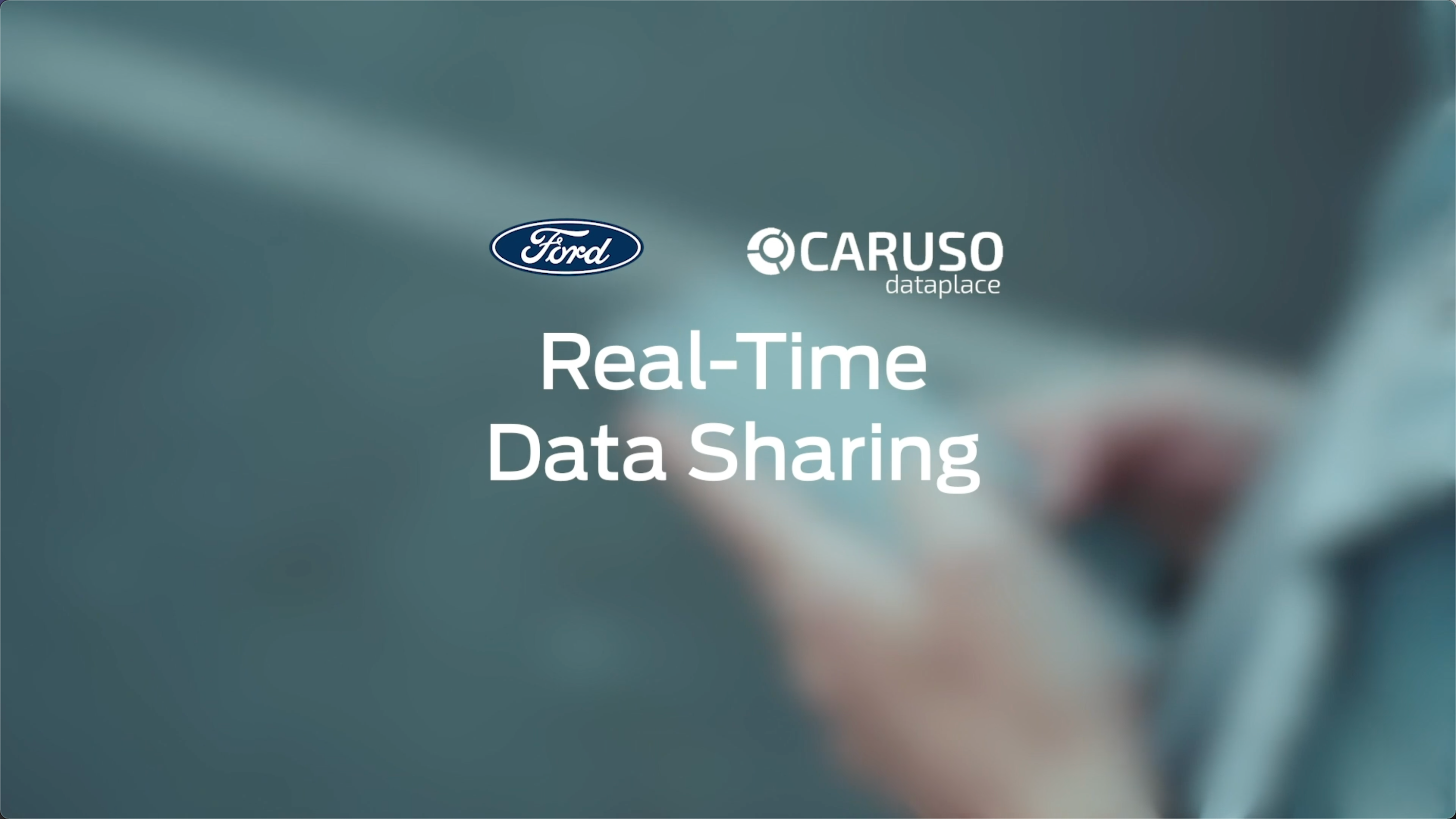 CARUSO and FORD – Real-Time Car Data Sharing
